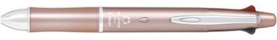 パイロットPILOT[多機能油性ボールペン]ドクターグリップ4+1ピンクゴールド(インキ色:4色、ボール径0.7mm・芯径:0.5mm)PBKHDF1SFN-PG[PBKHDF1SFNPG]