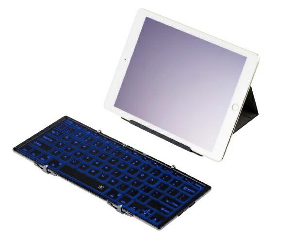 SAPサップキーボード[スマホ/タブレット対応]Dualブラック3E-BKY9-BK[Bluetooth・USB/有線・ワイヤレス][3EBKY9BK]