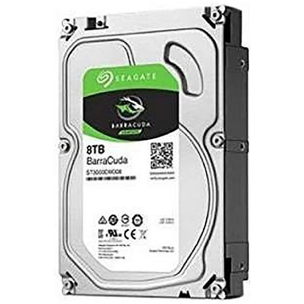 SEAGATEシーゲートST8000DM004内蔵HDDBarraCuda[3.5インチ/8TB]【バルク品】[ST8000DM004]
