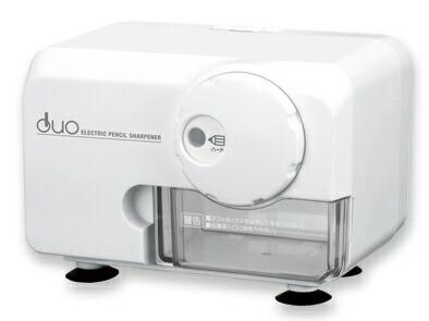 アスカASKA[鉛筆削り]電動シャープナーDUOEPS600W(ホワイト)EPS600Wホワイト