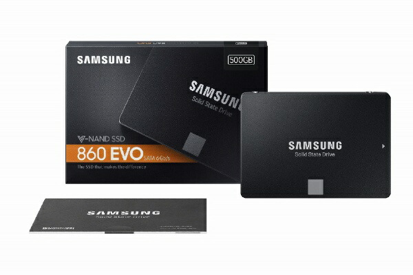 SAMSUNGサムスンMZ-76E500B/IT内蔵SSD860EVO[2.5インチ/500GB]【バルク品】[MZ76E500BIT]