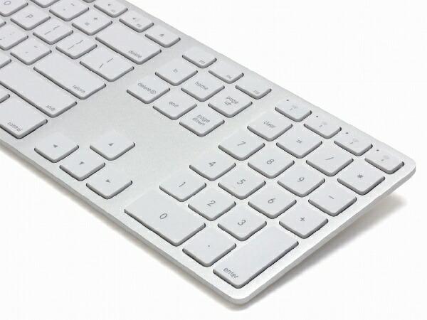 MATIASマティアスキーボードMatiasWirelessAluminumKeyboardSilverFK418BTS[Bluetooth/ワイヤレス][FK418BTS]