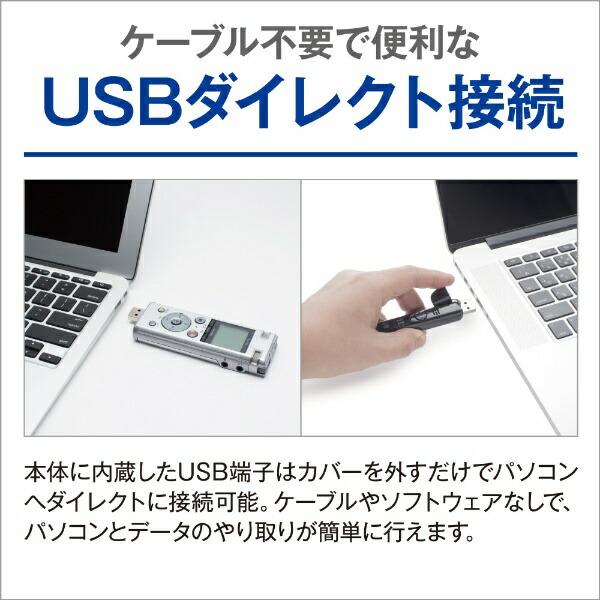 オリンパスOLYMPUSDM-750ICレコーダーVoice-Trekシルバー[4GB][録音機ボイスレコーダー小型高音質長時間]