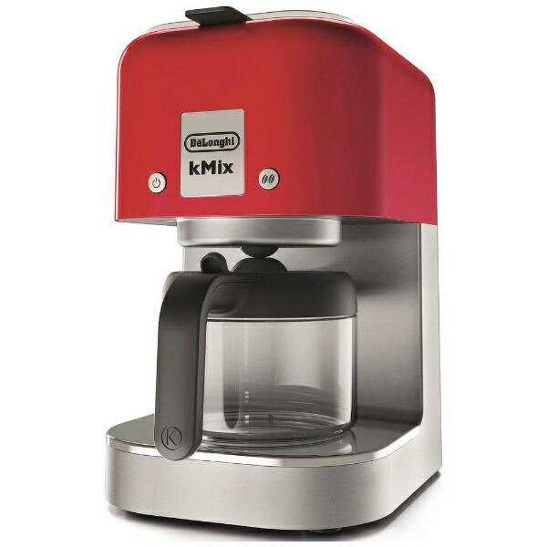 デロンギDelonghiドリップコーヒーメーカーケーミックススパイシーレッドCOX750J-RD[COX750JRD]