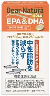 アサヒグループ食品AsahiGroupFoodsDear-Natura(ディアナチュラ)ディアナチュラゴールドEPA&DHA60日〔栄養補助食品〕【rb_pcp】