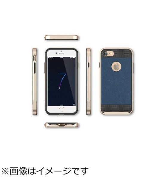 ビジョンネットiPhone7用ARMOR耐衝撃CaseネイビーブルーBL70NB