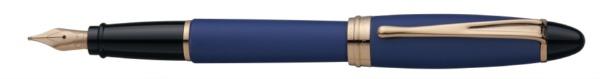 アウロラaurora[万年筆]イプシロン・サテン・ローズゴールドB10PBFPEFブルーB10PBFPEF