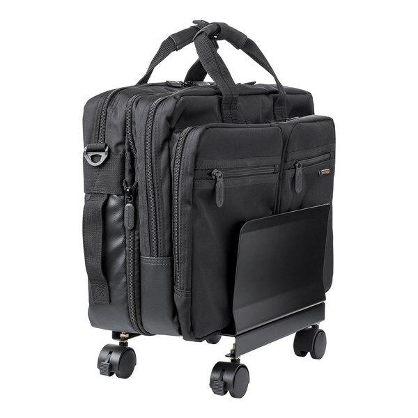 サンワサプライSANWASUPPLYキャスター付き鞄スタンドBAG-STN001BKBAG-STN001BK