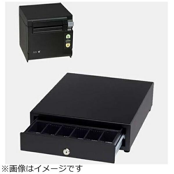 セイコーインスツルSeikoInstrumentsAirレジAセット(黒)レシートプリンターRP-D10-K27J2-B/キャッシュドロアDRW-A01-K[エアレジAセットブラック]