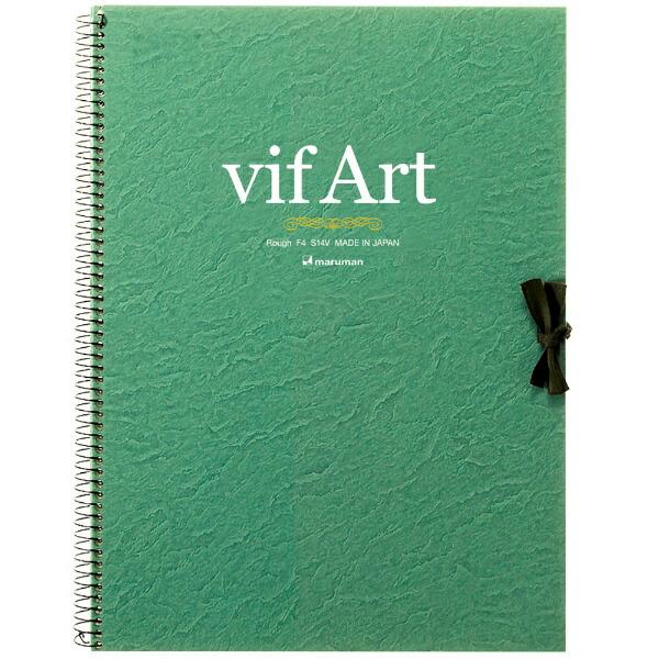 マルマンmaruman[スケッチブック]ヴィフアール水彩紙F4中目S24V