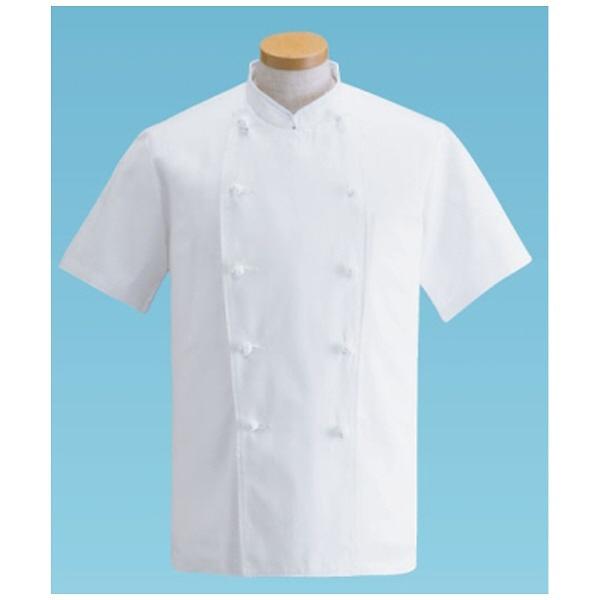 サンペックスイストSUNPEXISTコックコート・半袖KG-412(ホワイト)L<SHK10001>[SHK10001]