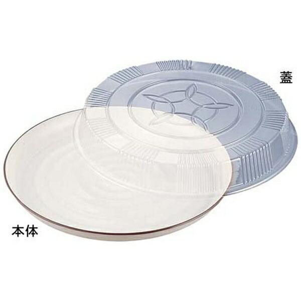 ニシキNISHIKIプラ容器オードブル蓋透明(益子48用)48(10枚入)<XNS0901>[XNS0901]