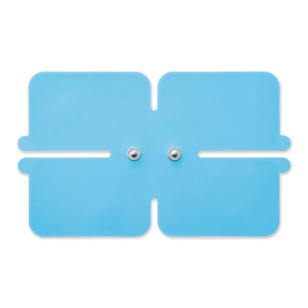 エレコムELECOMコードレス低周波治療器エクリアリフリー専用ゲルパッドワイドパッド1枚入り/ブルーHCM-P01G3BU[HCMP01G3BU]