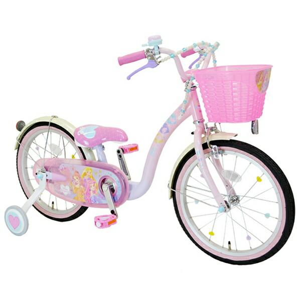 アイデスides16型幼児用自転車プリンセスゆめカワ(プリンセスデザイン/ピンク)【代金引換配送不可】