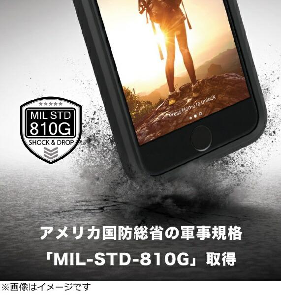 トリニティTrinityiPhone8衝撃吸収ケースブラックCT-IPIP174-BK