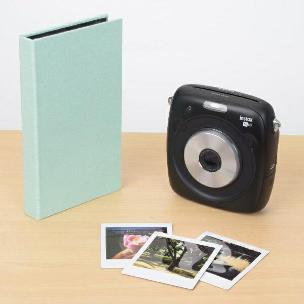 エツミETSUMIE-5507フォトアルバムエポカチェキスクエア対応40枚用グリーン