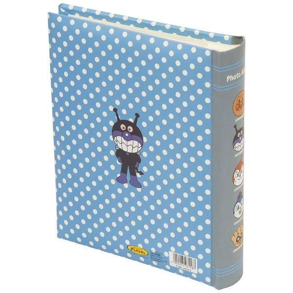 ナカバヤシNakabayashiアンパンマン背丸ブック式アルバムL判160枚収納(ブルー)アBPL16022