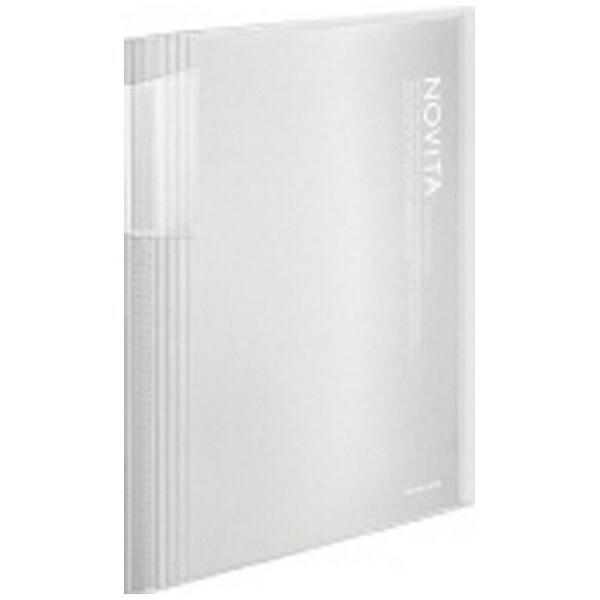 コクヨKOKUYO[ファイル]クリヤーブックノビータ(固定A4縦60枚)透明ラ-N60T