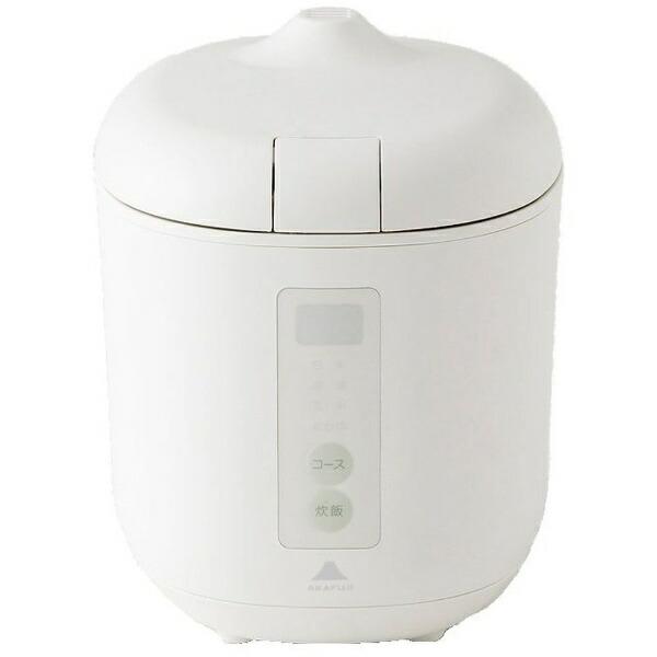 神明きっちん炊飯器poddi(ポッディー)ホワイトAK-PD01[マイコン/1.5合][AKPD01]
