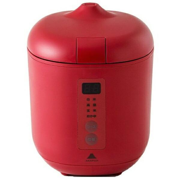 神明きっちんAK-PD01炊飯器poddi(ポッディー)レッド[1.5合/マイコン][AKPD01]