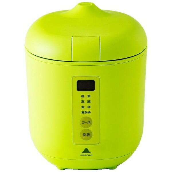 神明きっちんAK-PD01炊飯器poddi(ポッディー)グリーン[1.5合/マイコン][AKPD01]