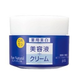 PDCピーディーシーピュアナチュラルクリームエッセンスホワイト(100g)〔保湿クリーム・ジェル〕