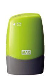 マックスMAXレターオープナー付個人情報保護スタンプ「コロレッタ」ライトグリーンSA-151RL/LG