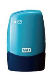 マックスMAXレターオープナー付個人情報保護スタンプ「コロレッタ」ブルーSA-151RL/B2