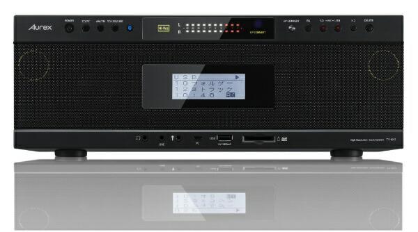 東芝TOSHIBACDラジオTY-AH1ブラック[Bluetooth対応/ワイドFM対応/ハイレゾ対応][TYAH1K]