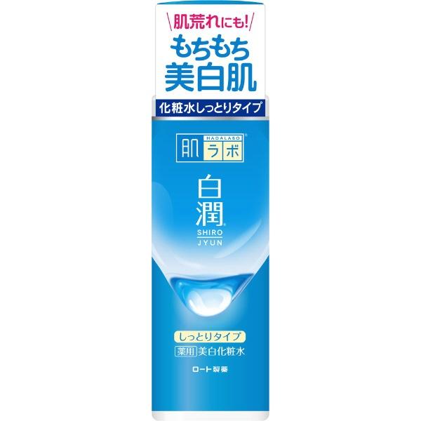 ロート製薬ROHTO肌研(肌ラボ)白潤薬用美白化粧水しっとりタイプ(170ml)〔化粧水〕【wtcool】
