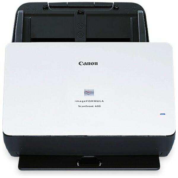 キヤノンCANONSCANFRONT400スキャナーブラック[A4サイズ/USB][SCANFRONT400]