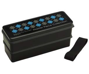 スケーターSkaterマスターピースシリコン製シールブタ2段ランチBOX900mlSSLW9黒[SSLW9]