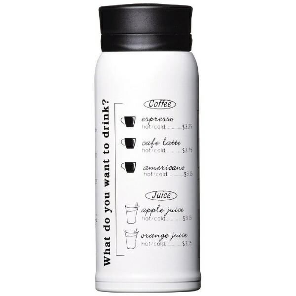 パール金属PEARLMETALマグボトル350350mlカフェマグメニューホワイトHB-3490[HB3490]