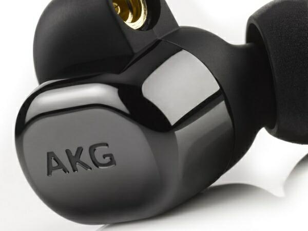 AKGアーカーゲーbluetoothイヤホンカナル型ピアノブラックAKGN5005BLKJP[リモコン・マイク対応/ワイヤレス(左右コード)/φ3.5mmミニプラグ/ハイレゾ対応][ワイヤレスイヤホンAKGN5005BLKJP]
