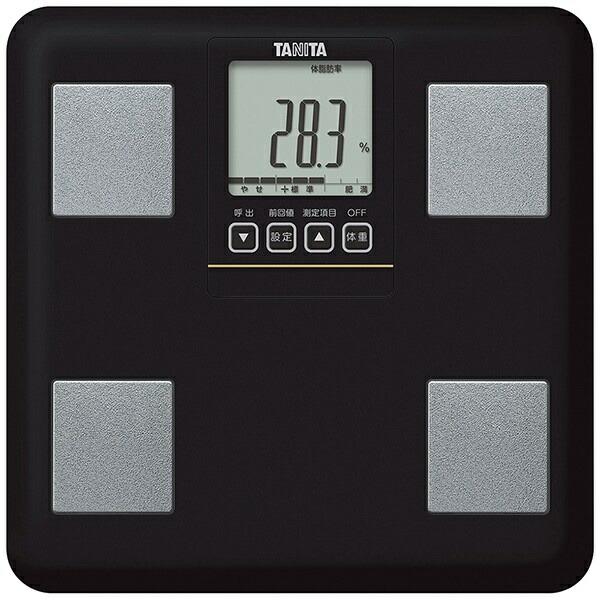 タニタTANITA【ビックカメラグループオリジナル】BCBI01BK体組成計ブラック[体重計体脂肪計BCBI01BK]【point_rb】