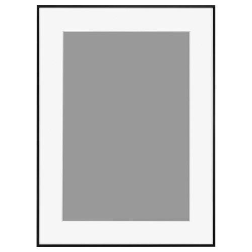ハクバHAKUBAアルミ額HFA-03ブラック(ホワイトマット)A3ノビHFA-03BWM-A3NBK(白マット)
