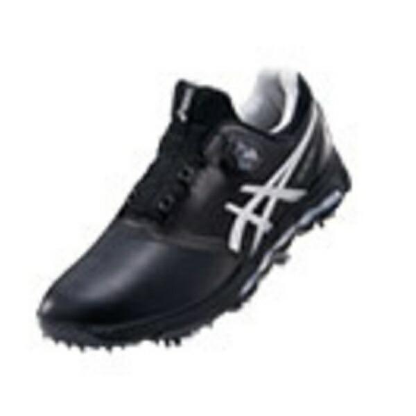 アシックスasics27.0cmメンズゴルフシューズGEL-ACEPROXBoa(ブラック×シルバー)TGN922