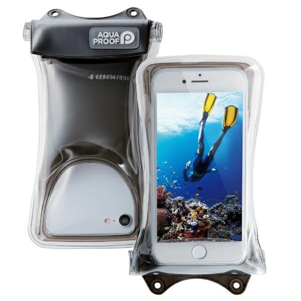エレコムELECOMスマートフォン用[幅67mm/4.7インチ]防水ケース水没防止タイプP-WPSF01BKP-WPSF01BK