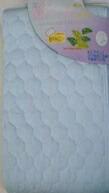 その他寝具メーカー【敷パッド】綿カラーダブルサイズ(140×205cm/ブルー)