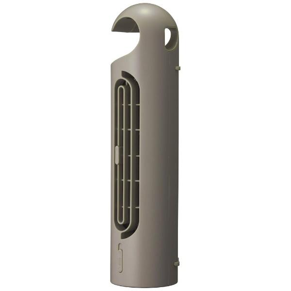 ドウシシャDOSHISHA小型扇風機PIERIA(ピエリア)3WayフックタワーファンブラウンFTT302U-BR[DCモーター搭載][FTT302U]