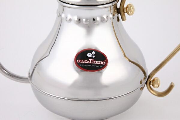 ユノックスTiamoコーヒーポット1000ml[HA8560]