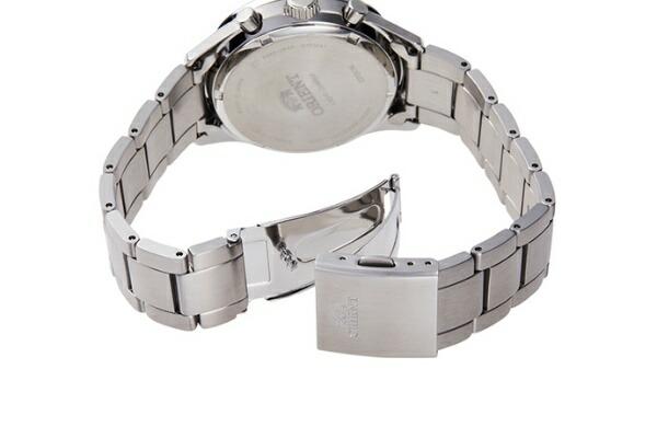 オリエント時計ORIENTオリエント(Orient)コンテンポラリー「クロノグラフ」LIGHTCHARGERN-TY0002B