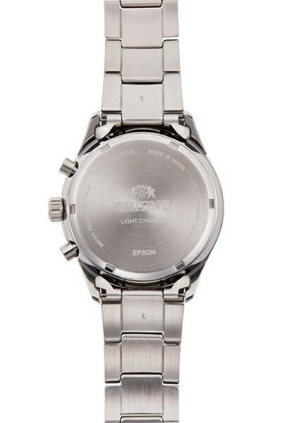 オリエント時計ORIENTオリエント(Orient)コンテンポラリー「クロノグラフ」LIGHTCHARGERN-TY0003L