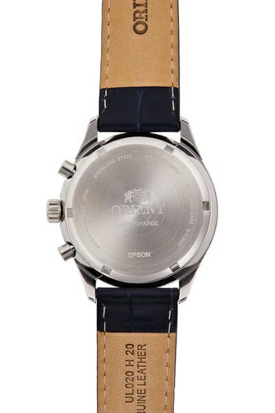 オリエント時計ORIENTオリエント(Orient)コンテンポラリー「クロノグラフ」LIGHTCHARGERN-TY0004L