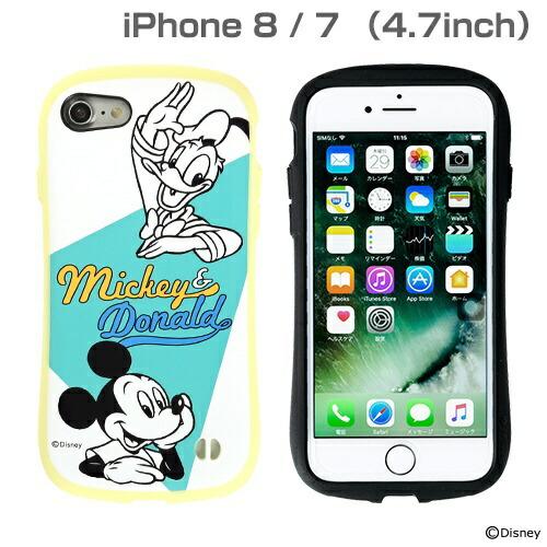 HAMEEハミィ[iPhone8/7専用]ミッキー90周年限定/ディズニーキャラクターiFaceFirstClassPastelケース(ミッキー&ドナルド/イエロー)