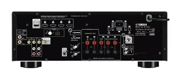 ヤマハYAMAHARX-V385BAVアンプブラック[ハイレゾ対応/Bluetooth対応/ワイドFM対応/5.1ch][RXV385B]