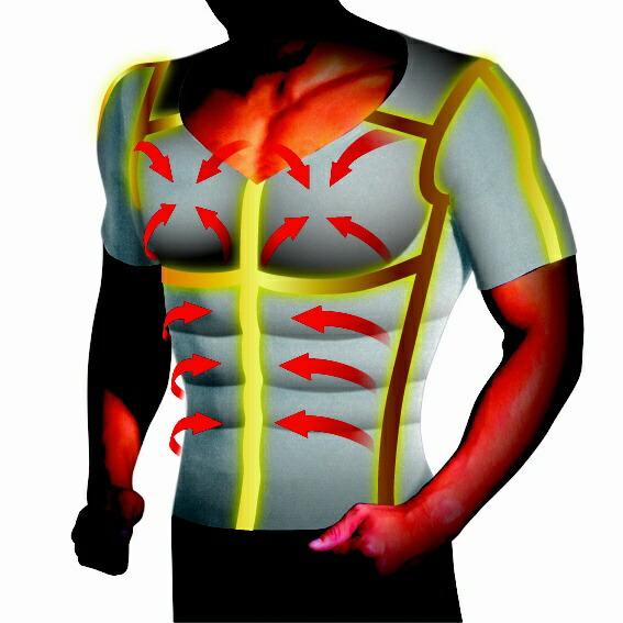 イッティITTY加圧シャツパンプマッスルビルダーTシャツ(Mサイズ/ホワイト)ヒロミプロデュースKTSWTM