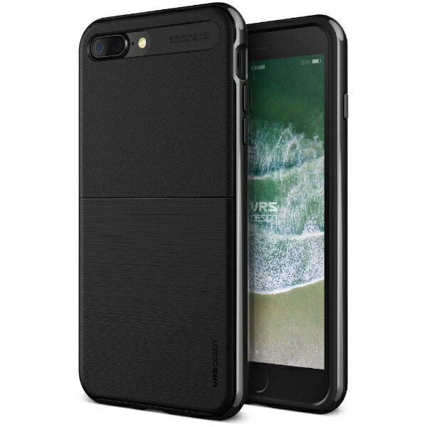 サンクチュアリSanctuaryVRSDESIGNハイプロシールドforiPhone8Plus/7Plus/メタルブラック