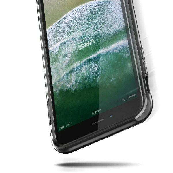 サンクチュアリSanctuaryVRSDESIGNクリスタルバンパーforiPhone8Plus/7Plus/メタルブラック