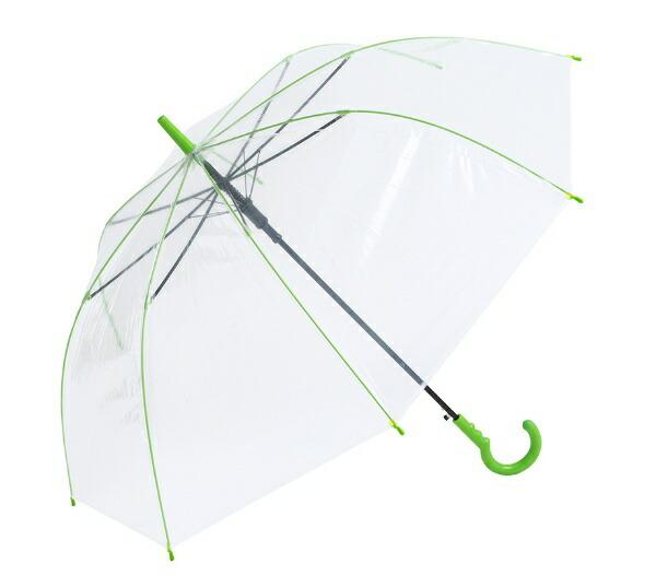 ウォーターフロントWaterfront【傘】レディース長傘カラーグリップ65cm【色指定不可】[65cm]